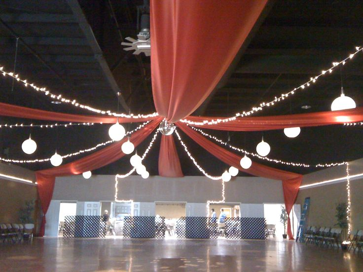 gossamer ceiling decorations - Google Search....awesome, but too much work???