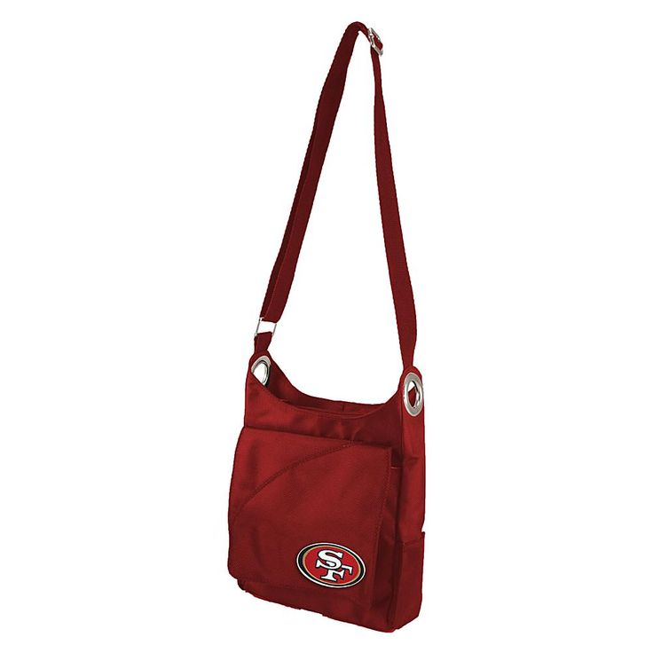 NFL San Francisco 49ers Color Sheen Cross-Body Purse - Red