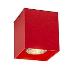 Deckenstrahler Qubo 1 rot -  #Angebote #Sale #Ausverkauf #Außenbeleuchtung #Innenbeleuchtung #lampen #Leuchte #Light #wohnen #einrichten #Outlet
