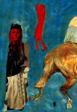 "Saatchi Art Artist CRIS ACQUA; Collage, ""42-LAUTREC x Cris Acqua."" #art"
