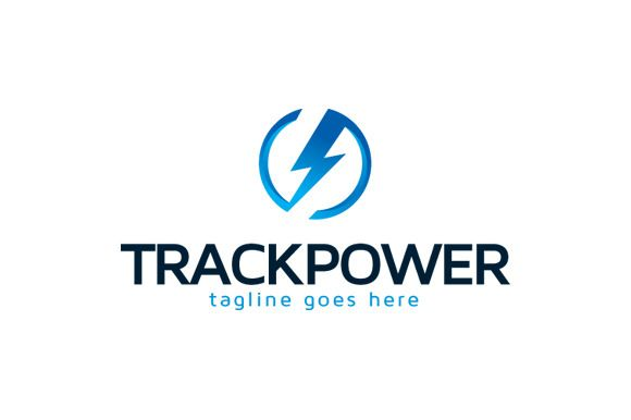 Track Power Logo Template Design by gunaonedesign on Creative Market