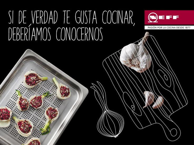 En Neff fabricamos electrodomésticos especialmente pensados para los amantes de la cocina, ¿eres uno de ellos? Entonces, deberíamos conocernos.