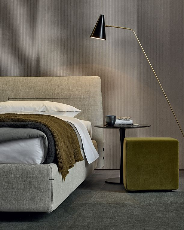 Bed Jacqueline by Jean-Marie Massaud for Poliform