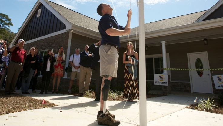 Honoring Their Sacrifice: Disabled Veterans Receive New Homes http://www.realtor.com/news/trends/disabled-vets-get-new-homes/