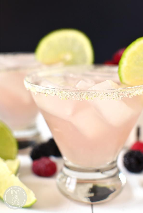 Chambord Margarita is a classic, fresh margarita with a fruity yet not too sweet twist! #cocktail | iowagirleats.com