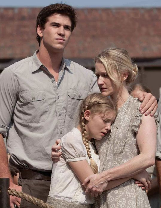 the hunger games gale and prim | ... ' family when she's gone. Image from World of the Hunger Games