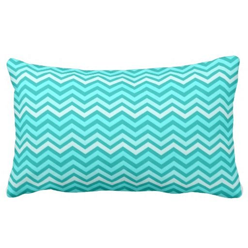 Tiffany Blue Chevron Pattern Pillows #tbtiffanybluethrowpillows Tiffany Blue Throw Pillows ...