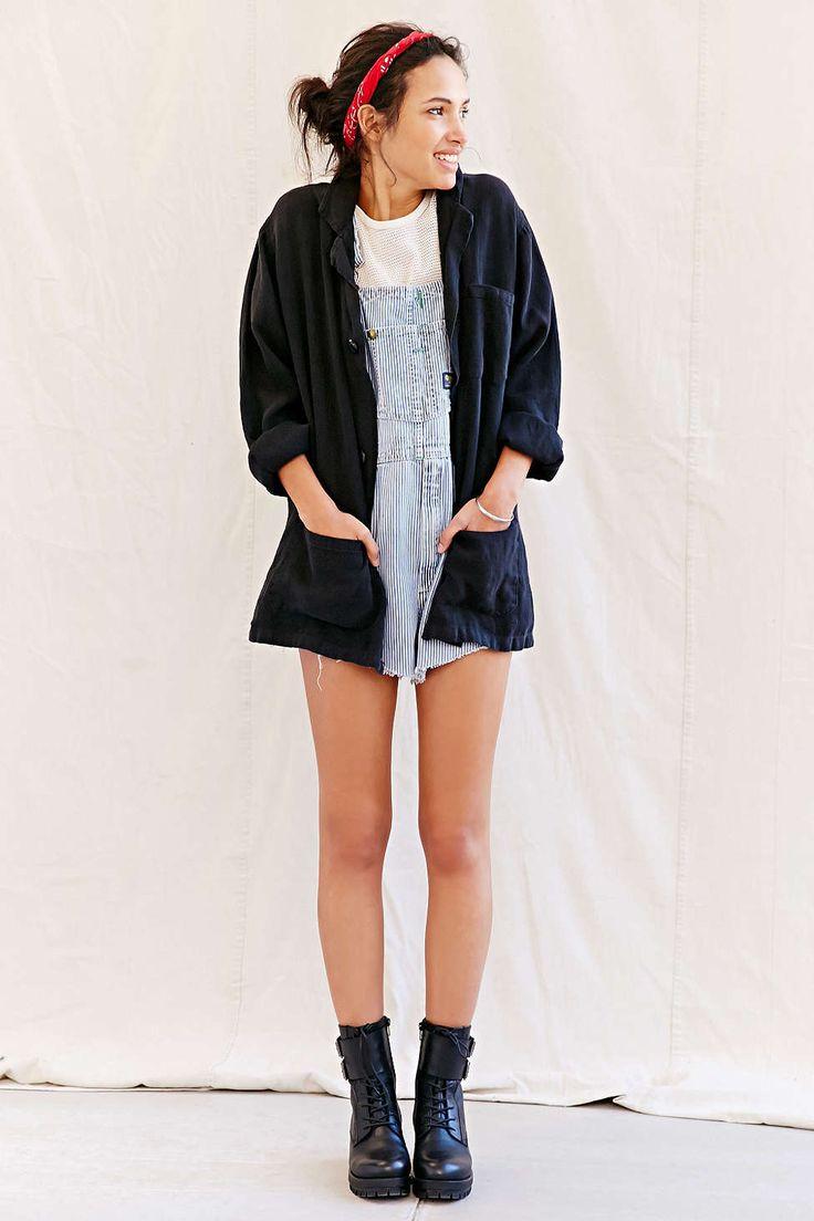Urban Renewal Remade Short Linen Shop Coat - Urban Outfitters