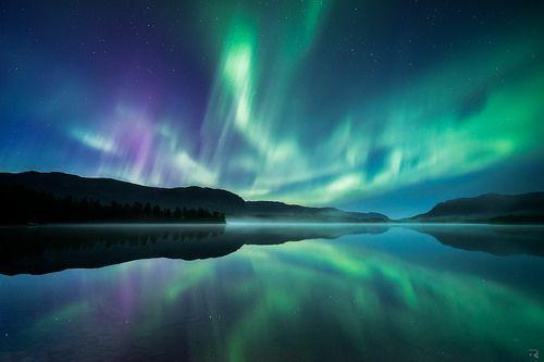 Waltz of the polar lights