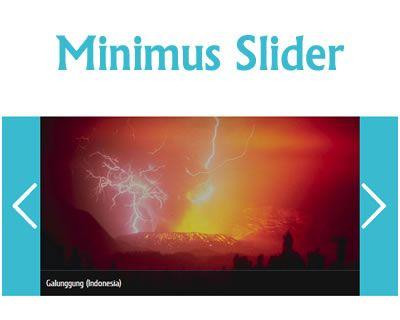 Minimus Slider – Responsive jQuery Slider  #jQuery #responsive #slider #photo #image