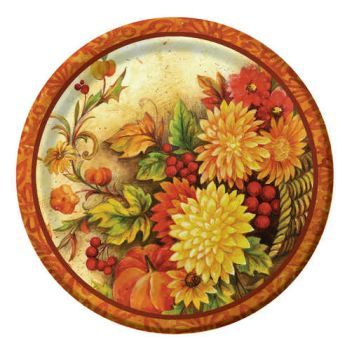 Autumn Awe 10-1/4-inch Plates  sc 1 st  Pinterest & 88 best Paperplate Madness images on Pinterest | Madness Party ...