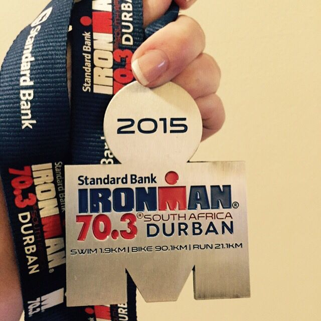 Ironman 70.3 Finisher Medal #IM703Durban