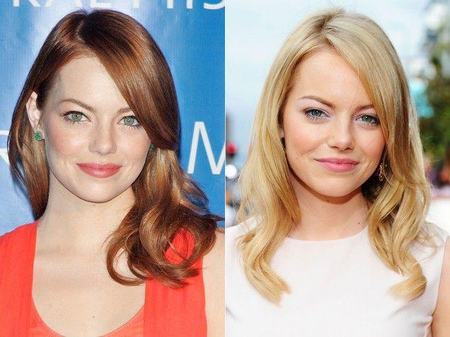 Celebrity Hair Color Changes