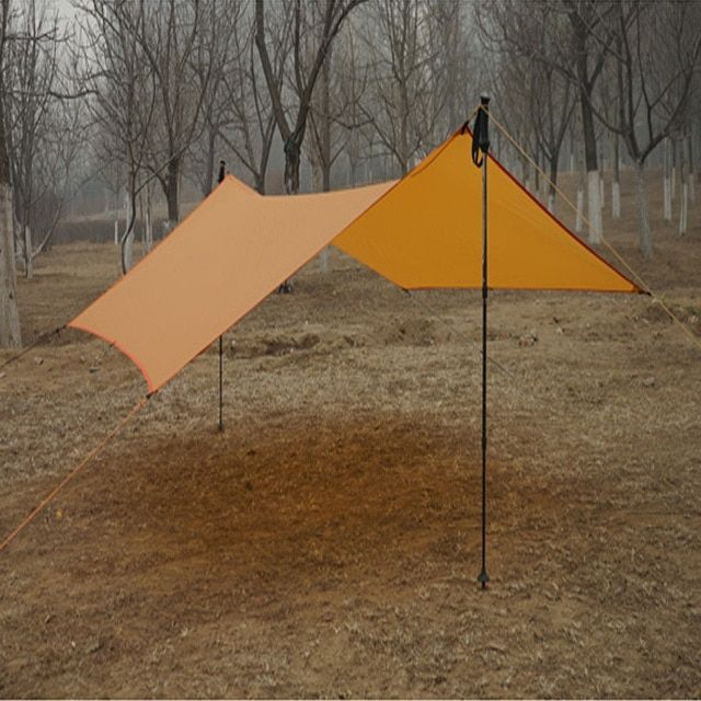 only 450g 20D silicone nylon Rain Fly Tent Tarp Shelter
