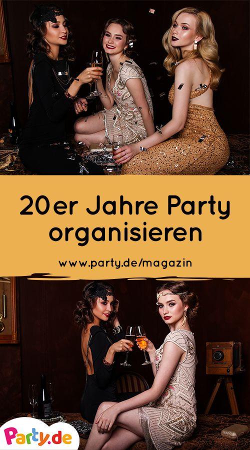 20er Jahre Party: Plane eine Zeitreise mit Glamour und purer Lebensfreude