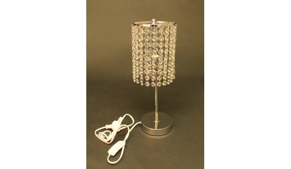 Drape Table Lamp - Crystal/Metal - 130*410mm