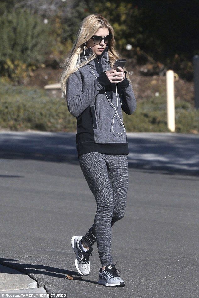 Tough time: The mother-of-two, an Orange County native, was snapped walking in Los Angeles Saturday