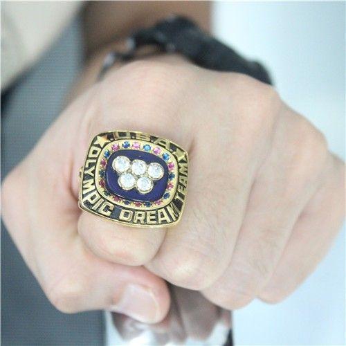 "Custom 1992 U.S. Olympics Basketball ""Dream Team"" Ring"