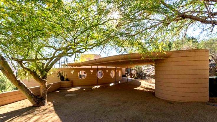 Norman Lykes house - Franck Lloyd Wright - 1959 - 69 - Phoenix - Le Figaro immobilier mars 2016 - photo 03