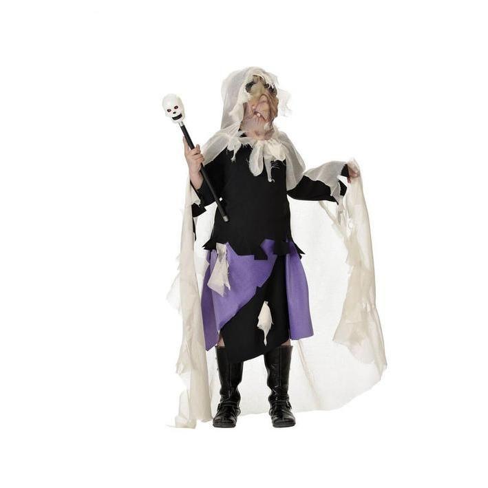 Disfraz de hechicera vudú para niña