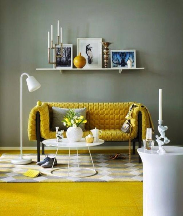 Grey / Yellow Interior fave colour combo currently