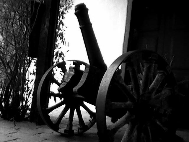 Cañon de la época colonial. Tucumán, Argentina.
