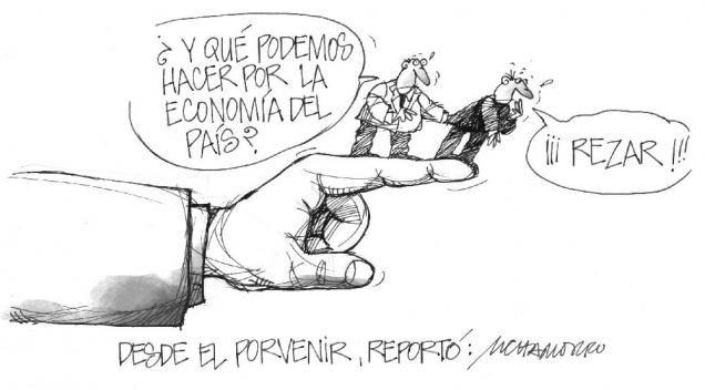 """Presentamos nuestra caricatura de hoy:  """"Desde el porvenir"""""""