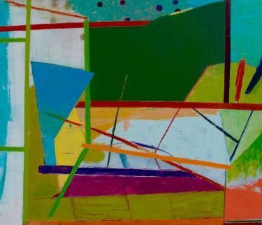 "Saatchi Art Artist Larry Graeber; Painting, ""Boundary"" #art"