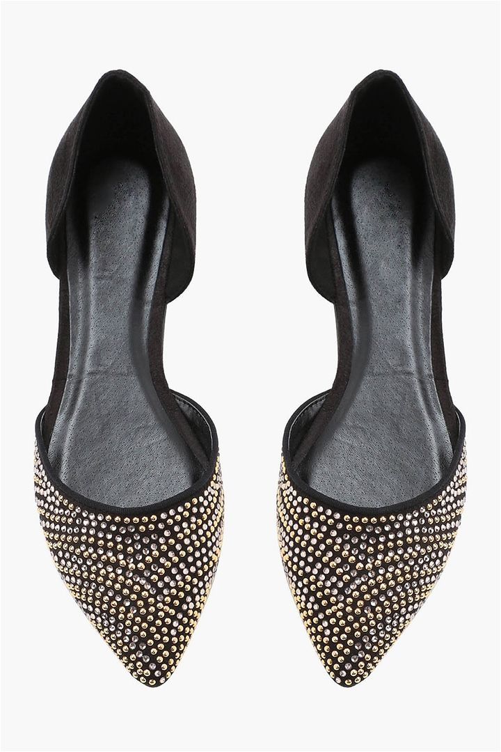 Pointer Flats in Black