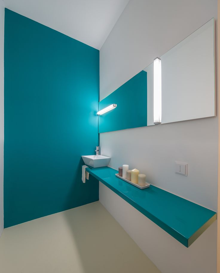 make up room, table top from glossy blue MDF orders/price offers at: office@liniafurniture.ro