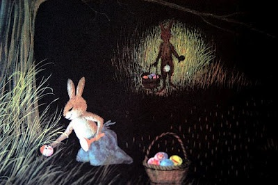 'The Easter Egg Artists'  illustrated by Adrienne Adams, 1976