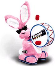 Energizer Bunny ..I have this guy!! Just sad that he's not animated!