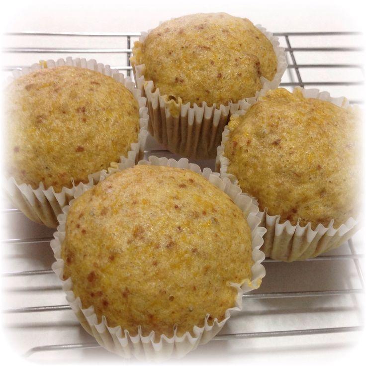 Steamed Pumpkin Muffins
