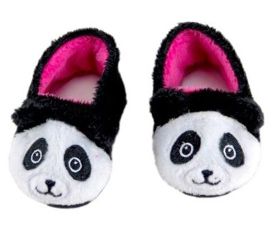 Who could resist these cute panda slippers?  They simply slip on and look absolutely adorable.