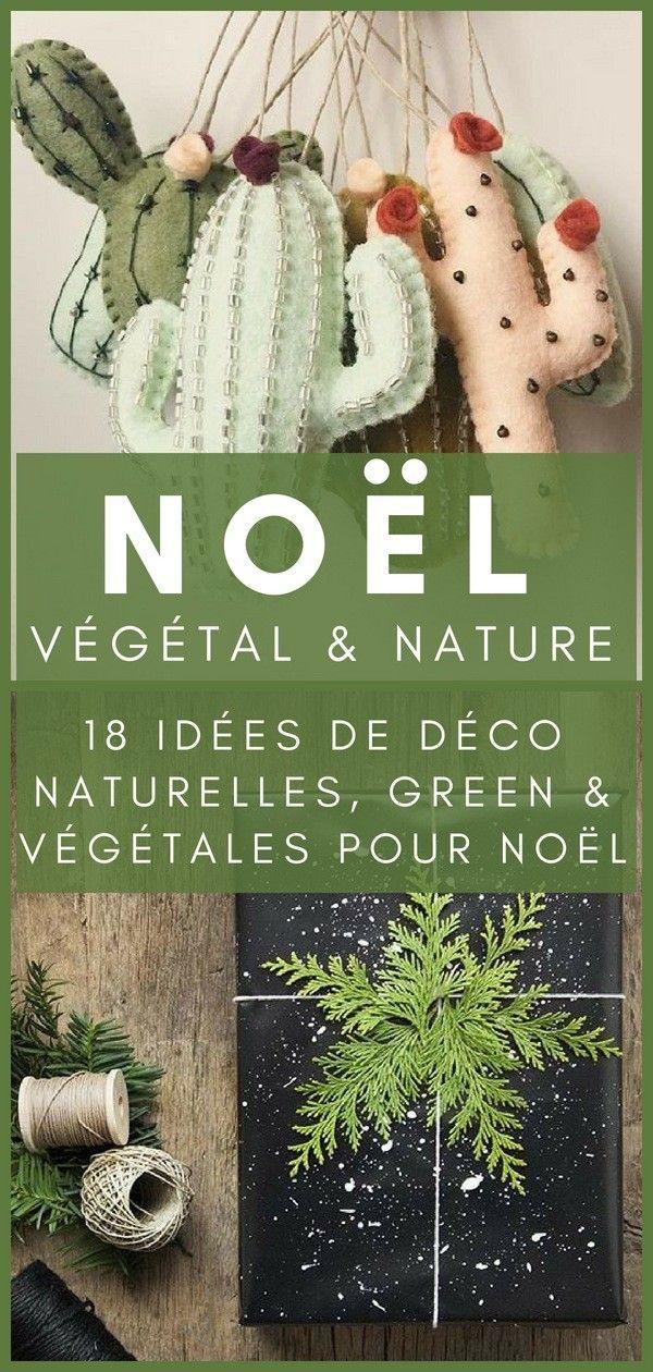 18 Weihnachtsdekoration Ideen Natur, Pflanzen & Grün   – Dekoration