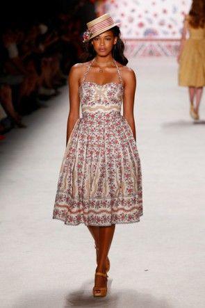Sommerkleider 2016 Lena Hoschek Fashion Week Berlin Juli 2015 - 19
