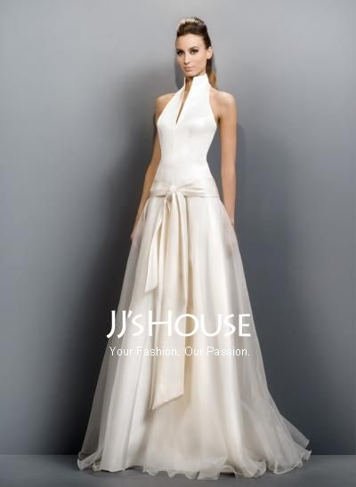 Love the high neckDresses Wedding, Wedding Dressses, Gowns Dresses, Ball Gowns, Bridal Dresses, Jesus, Chapel Training, Simple Wedding, Satin Wedding Dresses