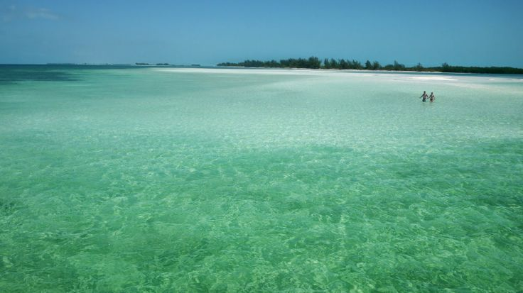 swimming at Cayo Largo Del Sur, Cuba