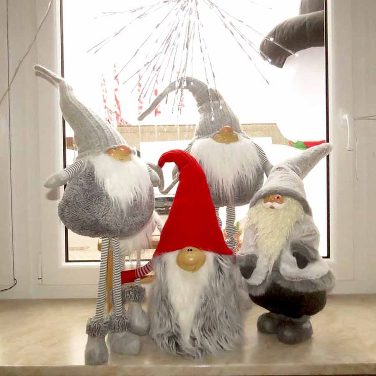 #Weihnachtswichtel Machen Sich Auch Gut Auf Der #Fensterbank Als #Dekoration.  #Weihnachten