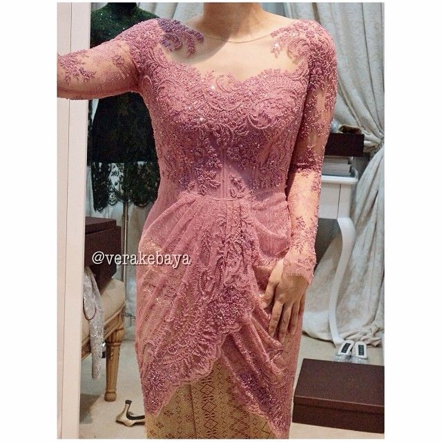 Pink Party Kebaya by Verakebaya