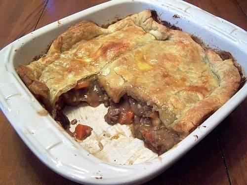 Homemade Beef Pot Pie   *Pot Pies   Pinterest