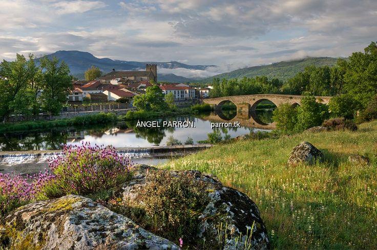El puente románico en El Barco de Ávila