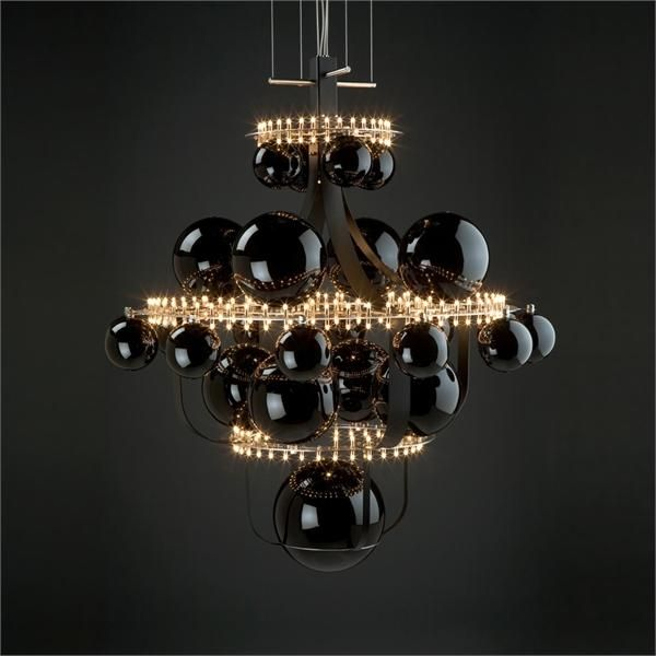 WOW!! Unique Chandelier Reminding Of The Solar System | DigsDigs