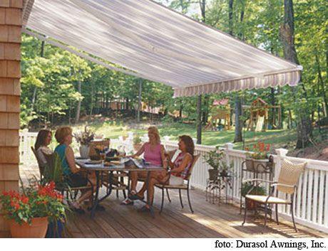 Toldo para patio casa hermoosa pinterest patio for Toldos para patios pequenos