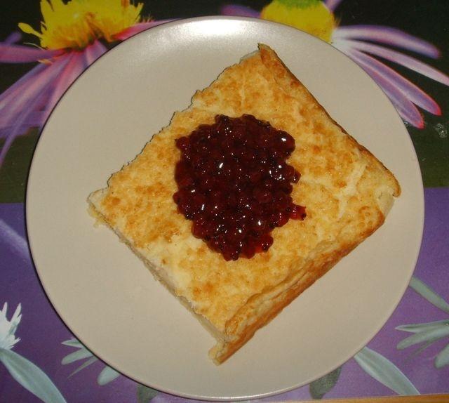 Maukas gluteeniton pannukakku. Reseptin teki Kotikokki.netin nimimerkki Leppäkerttu