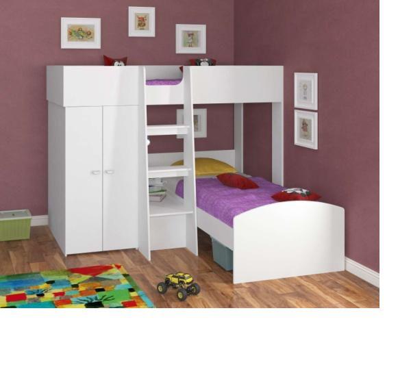 Детская двухъярусная кровать Golden Kids-4