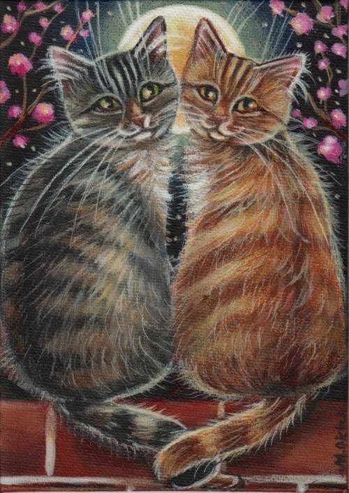 Valentine Black Cats Images