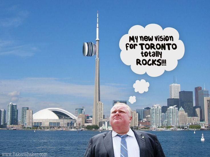 Rob Ford's New Vision For Toronto's Downtown?