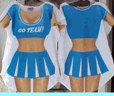 Halloween costume cheerleader funny cover-up one size or plus