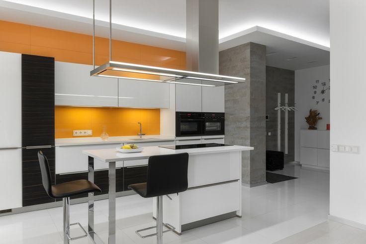 Кухня, совмещенная с гостиной. - ALNO. Современные кухни: дизайн и эргономика   PINWIN - конкурсы для архитекторов, дизайнеров, декораторов